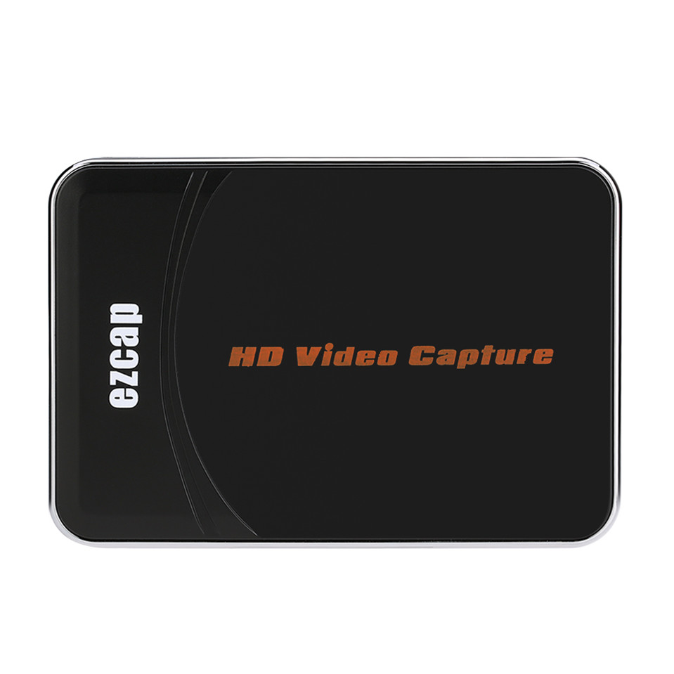 EZCAP HD Video Game Capture Box HDMI YPbPr Recorder One-clink Record Into USB Flash For XBOX 360/One PS3 For 1080P Rec(China (Mainland))