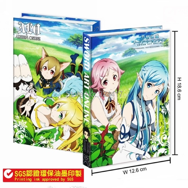 Animation/Sword Art Online Yuuki Asuna/rizbet fine Notebook / stationery Daily Necessities
