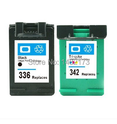 Free by Sweden Post Printer Ink Cartridge C9362E C9361E for HP HP336/342 for HP Deskjet 5440/ PSC 1510(China (Mainland))