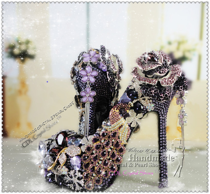 Design Your Own Shoes Leopard Print Sexy Ultra High Heels Closed Toe Platform Wedding Shoes In