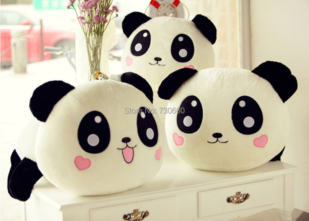 Cute Plush Laughing Panda Toy Pillow,Great Gift for Girls(China (Mainland))