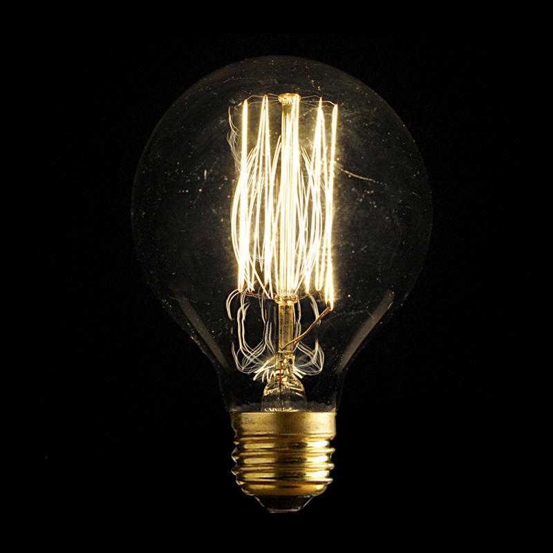LightInBox Warm Light E27 40W G80 Tungsten Light Bulb Antique Style Incandescent Bulb 220V Vintage Retro Filament Edison Bulbs(China (Mainland))