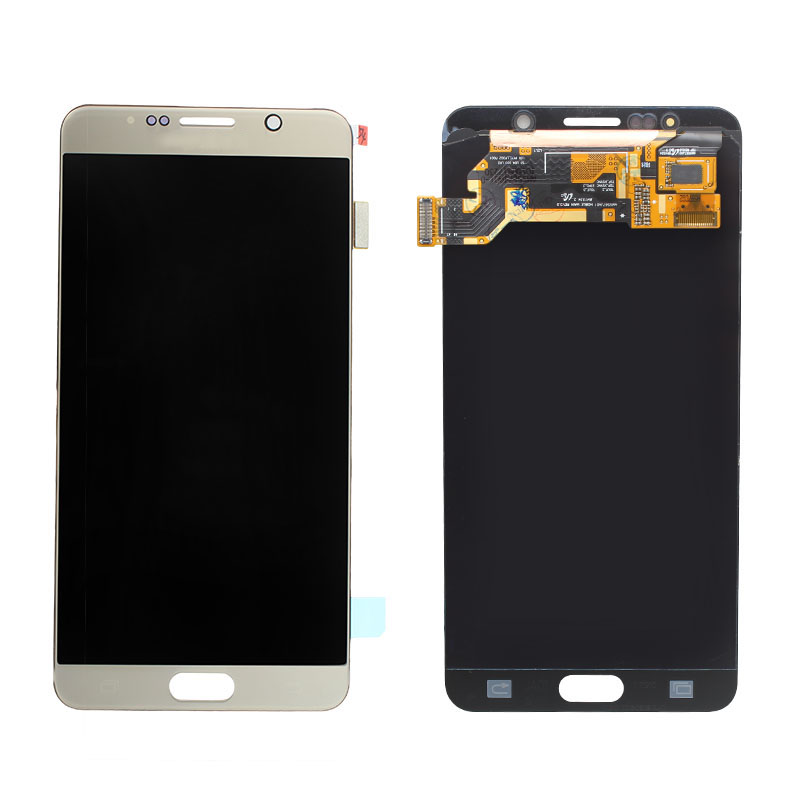 Grade AAA 100% Test Gold LCD For Samsung Galaxy Note 5 LCD ...