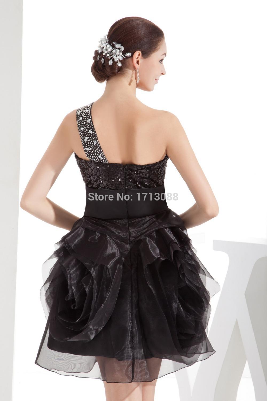 Puffy Black Prom Dresses - Formal Dresses