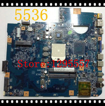 Hot Sales 5536 Motherboard MB.P4201.003 integrated JA50-PU MB 48.4CH01.021 100% fully tested(China (Mainland))