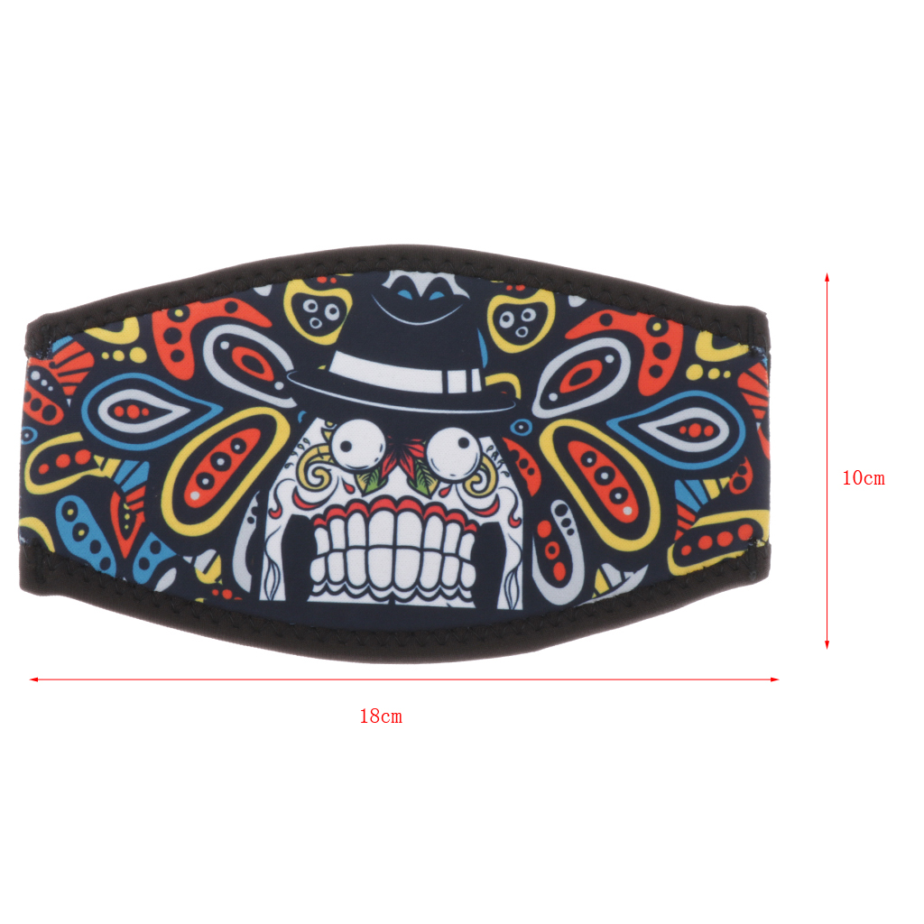 Neoprene Diving Mask Strap Cover Wrapper Hair Protector Goggle Sling Wrap Scuba Diving Mask Strap Cover for Diving