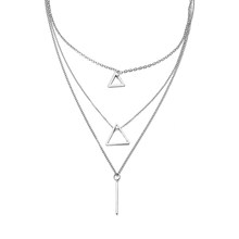 2019 Bohemia Simple fashion layer clavicle chain necklace women wedding party accessories female jewelry new(China)