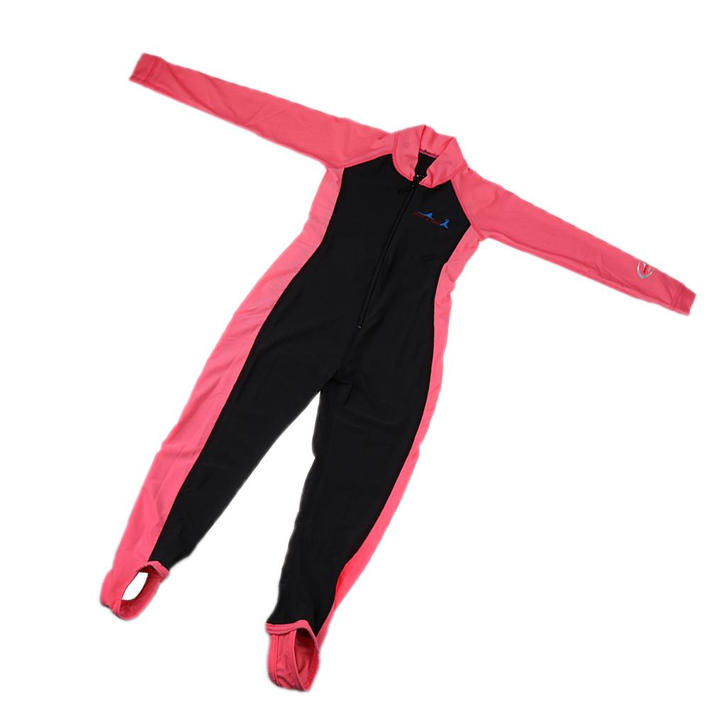 Kids Full Body Swimwear Long Sleeve Swimming Diving Wetsuit Kids Full Body Swimwear for Water Sports
