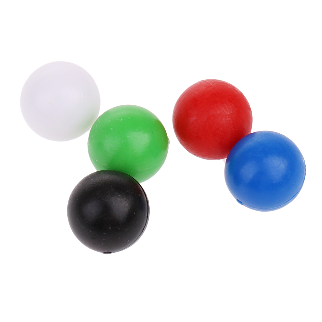 60pcs 10mm Plastic Balls Beads Accessories for Connecting 4 Shots Game, Quarto Strategy Board Games Family Party Supplies