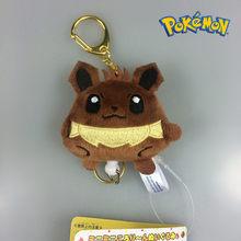 Takara tomy pokemon ir original digital bebê pikachu fogo dragão animal de estimação chaveiro pingente boneca brinquedos de pelúcia(China)
