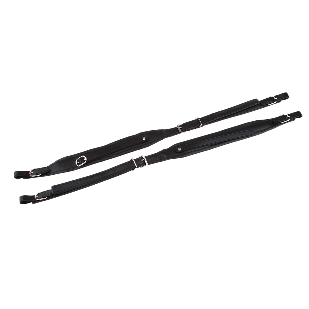 2 Pieces Adjustable Cowhide Belt Shoulder Strap Changing Pieces for 80 96 120 Bass Accordion