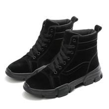 ERNESTNM bottes femmes 2019 hiver Botas Mujer Invierno bottines chaud en peluche dames chaussures Faux daim bottes minces Sexy chaussures rouges(China)