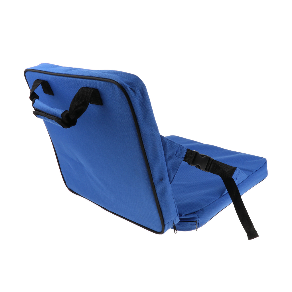 Reclining Stadium Seat, Carry On Folding Bleacher Chair with Back Support for Bleachers Lawns and Backyards Camping Fishing Acce