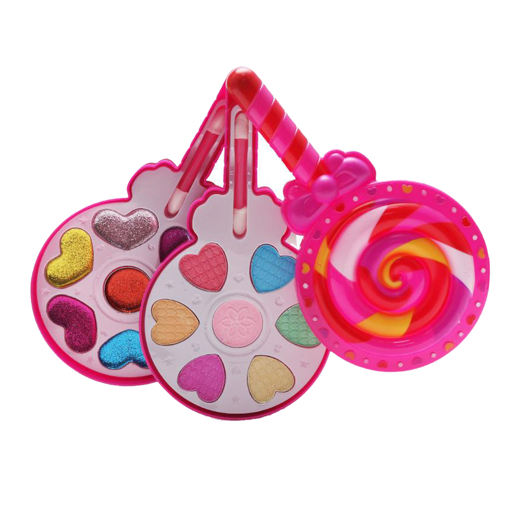 New Makeup Toys Baby Girls Pretend Play Safe Kids Girls Makeup Kit Toy Cosmetics Play Sets Best Gifts for Children