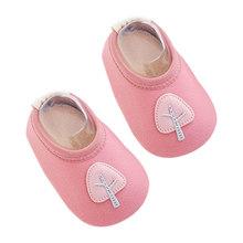 Модные детские носки с резиновой подошвой; носки для новорожденных; сезон осень-зима; детские носки-тапочки; нескользящие носки с мягкой под...(China)