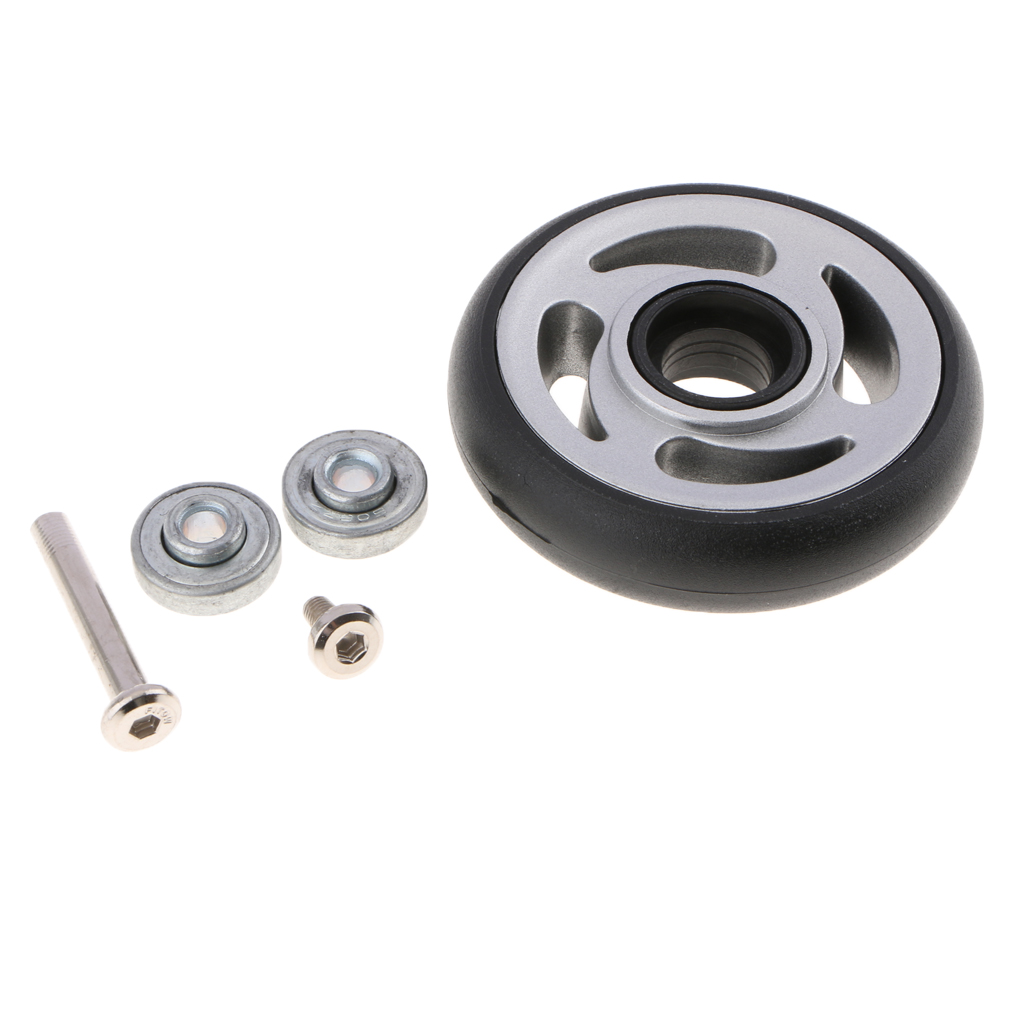 1pc Luggage Suitcase Wheels Replacement Casters for Travel Case Bag 04 - Wear-resistant and Durable