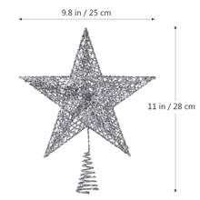 Nicexmas Bán Cây Giáng Sinh Quán Quân Giáng Sinh Ngôi Sao Bạc Cây Vàng Đồ Trang Trí Nhà Cửa Hàng Quà Giáng Trang Trí 5 Điểm Sao Xmas(China)