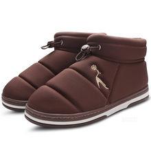 Kış Ayakkabı Kadınlar Sıcak Kürk Astarı yarım çizmeler Su Geçirmez Platform Çizmeler Yumuşak Elastik bant Ayakkabı Pembe Botas Mujer Invierno 2019(China)