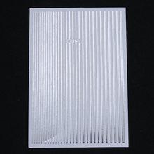 1 แผ่นหินอ่อน GRAIN Moon Series สติ๊กเกอร์เล็บผสมเล็บโอนสติกเกอร์กระดาษสำหรับ DIY ตกแต่งเล็บ(China)