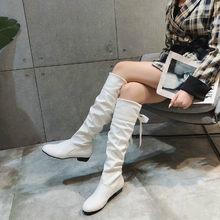 Fujin รองเท้าบูทรอบ Toe Dropshipping สูงรอง(China)