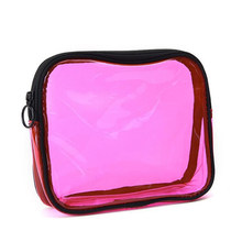 Waterproof PVC Makeup Bags Organizer Wash Pouch Outdoor Travel Toiletry Storage Bags High Capacity Casual Cosmetic Bag Organizer(China)