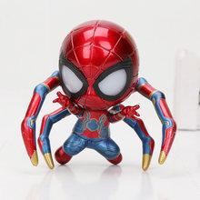 Marvel the avengers homem aranha de ferro tamashii palco vingadores spiderman infinito guerra figura de ação coleção modelo boneca brinquedos presente(China)