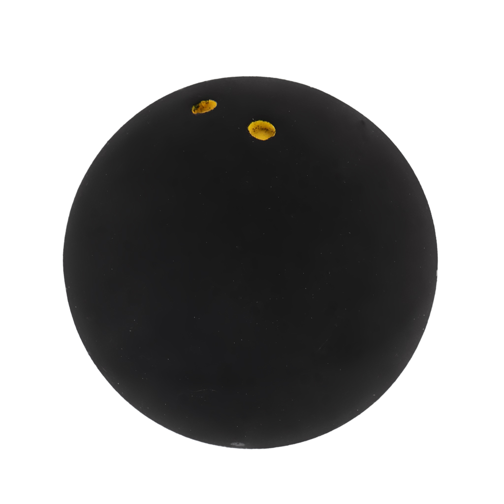 Portable Rubber Double Yellow Dot Trainner Squash Balls for Indoor Outdoor