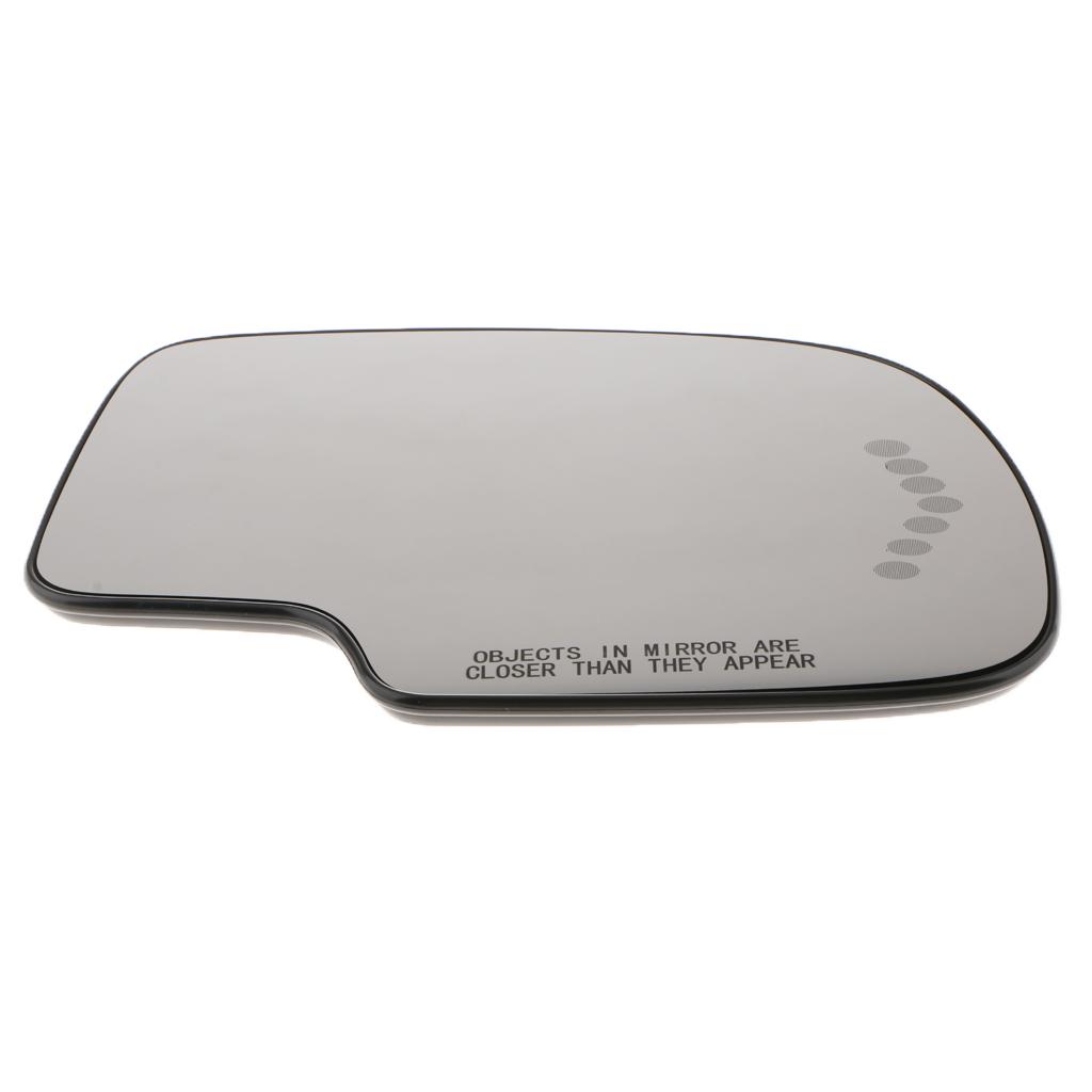 Mirror Glass W/Turn Signal & Mount Passenger Side For Chevy/GMC SIERRA