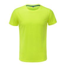 Camiseta para correr de 2019 hombres, camiseta de Fitness de secado rápido, ropa de entrenamiento, camiseta de fútbol para gimnasio, camisetas deportivas sólidas, camisetas musculosas camisetas(China)