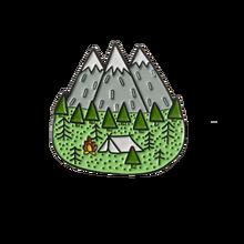 Andare per i Tuoi Viaggi! Avventura Spille Foresta di Montagna Laghi Terra Esplorare la Natura Bus Smalto Spille Pulsante Distintivo Spilla Donne Degli Uomini Outdoorsy Regalo(China)