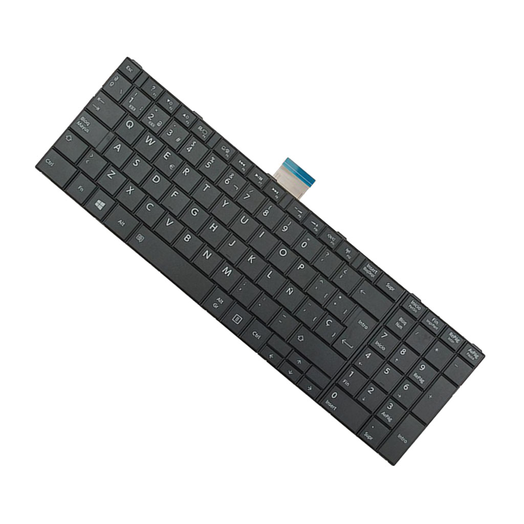Spanish Español SP Teclado Layout Laptop Replacement Keyboard for Toshiba Satellite C50-A C50D-A C50T-A C55-A C55D-A C55T-A