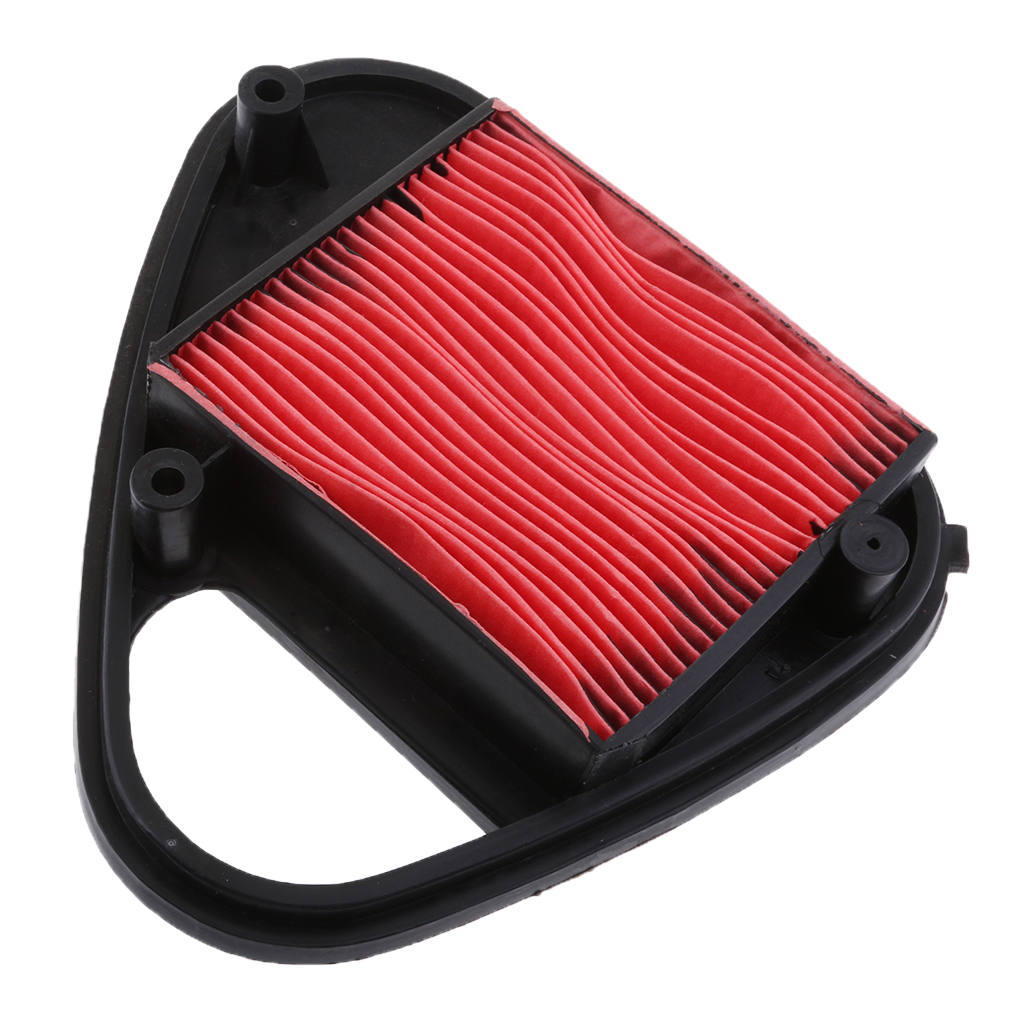1 Pcs Motorcycle Air Filter Cleaner Element For Honda NV400 Steed VT600 Plastic+Filter Paper 7.6 x 7.7 Inch