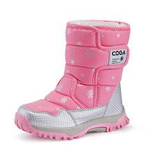 หิมะรองเท้าสาวรองเท้าฤดูหนาวรองเท้าอุ่นสำหรับเด็กกีฬารอง(China)