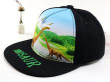 2020 yeni bebek erkek kız şapka yeni hip hop karikatür dinozor baskı beyzbol kapaklar bahar yaz açık rahat güneş şapkaları çocuklar snapback(China)