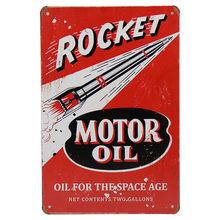Texaco Motor Öl GAS Garage Retro Kunst Aufkleber Vintage Bar Pub Up Wand Decor Metall Platte Poster Tin Zeichen Tintin malerei H29(China)