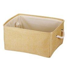 Новая Большая для Складывания Белья тканевая корзина для хранения детских игрушек коробка для хранения одежды сумка для хранения Органайз...(China)