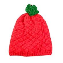 เด็กทารกหมวกสับปะรดหมวกฤดูหนาวที่อบอุ่นถักผ้าขนสัตว์ Hemming ฤดูใบไม้ผลิฤดูใบไม้ร่วงฤดูหนาว...(China)