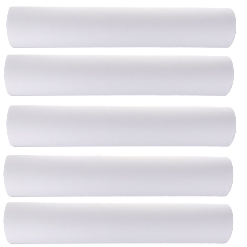 5x 50pcs Non-Woven Headrest Paper Roll Spa Salon Bed Cover Tattoo Supply Disposable Bed Sheet Massage Mattress Sheet 50x70cm