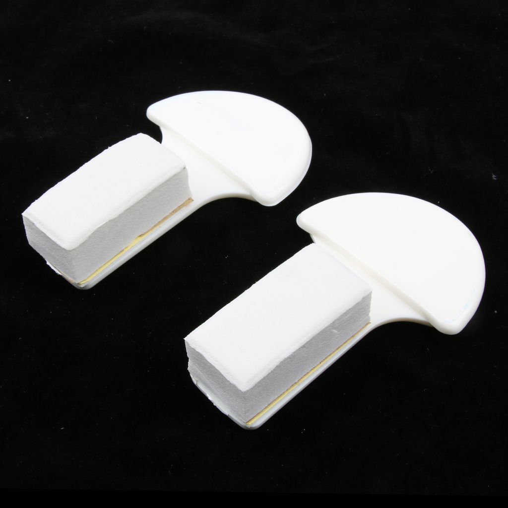 2 Pieces Plastic Avoid Touching Self Adhesive Sanitary Toilet Seat Cover Lifter Lower Lid Handle Holder for Bathroom Home Hotel