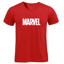 MARAVILHA T-Shirt 2019 Nova Moda de Mangas Curtas Homens de Algodão Casual Masculino Camiseta Marvel T Camisas Das Mulheres Dos Homens Cobre T Namorado presente(China)