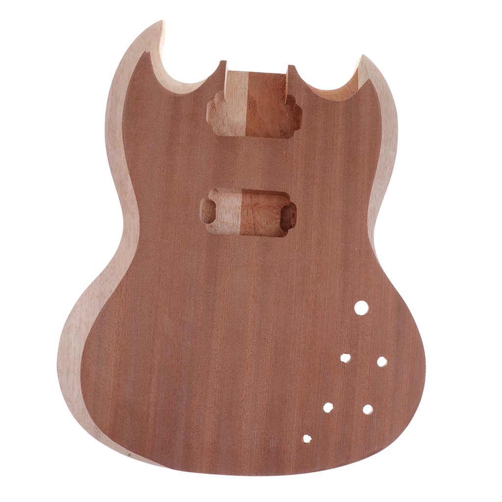 Unfinished Electric Guitar Body for Squier SQ Guitar Parts Replacement