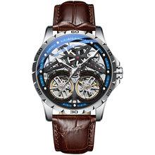 Ailangmen relógios 2019 marca de luxo superior moda/militar automática mecânica à prova dwaterproof água esportes relógio masculino montre homme(China)