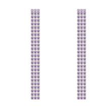 Neoglory 2019, модные серьги с кисточками в виде когтей для женщин, ювелирные изделия для невесты, для свадебного банкета, Размер 1,5 мм, CZ, 3 ряда, 5 см(China)
