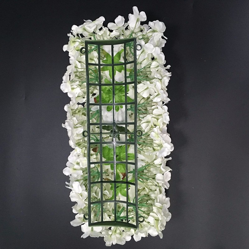 Flower Wall Plastic Panel Holder For D.I.Y Wedding Main Road Pillar
