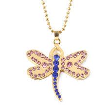 Horor Ini Film Coraline Kristal Dragonfly Bros Jepit Rambut untuk Anak Perempuan Lucu Hewan Jepit Rambut Perhiasan Hadiah Halloween(China)