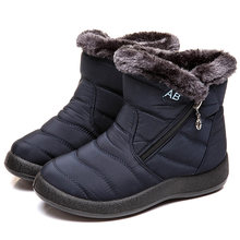 Vrouwen Laarzen 2019 Nieuwe Waterdichte Snowboots Voor Winter Schoenen Vrouwen Casual Lichtgewicht Enkel Botas Mujer Warm Winter Laarzen Vrouwelijke(China)