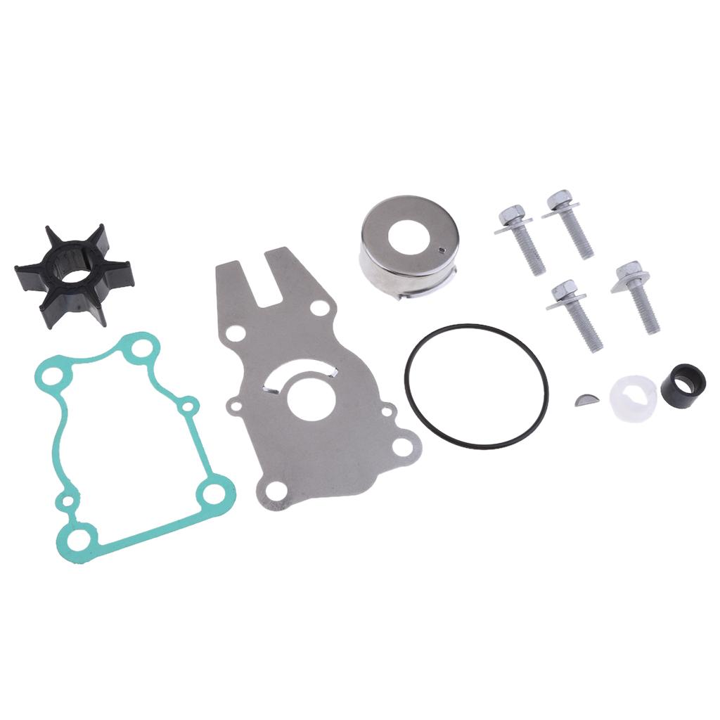 Water Pump Kit w// Housing  Yamaha 40//50,P40 63D-W0078-01-00