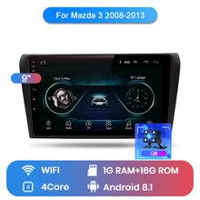 Junsun V1 2G + 32G Android 8.1 Voor Mazda 3 2008 2009-2013 maxx axela Auto Radio multimedia Video Player Navigatie GPS 2 din dvd(China)