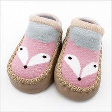 Детские носки с резиновой подошвой; Носки для новорожденных; Сезон осень-зима; Детские носки-тапочки; Нескользящие носки с мягкой подошвой(China)