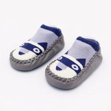 Модные детские носки с резиновой подошвой, носки для новорожденных, Осень-зима 2019(China)